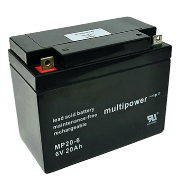 multipower MP20-6 6V 20Ah Bleiakku