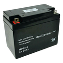 multipower MP20-6 6V 20Ah