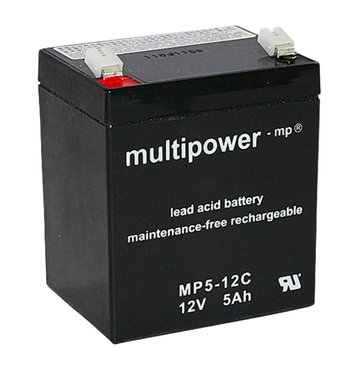 multipower MP5-12C 5Ah