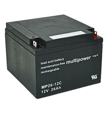 multipower MP26-12C 12V 26Ah Bleiakku