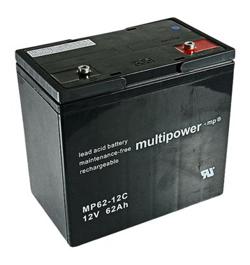 multipower MP62-12C 62Ah
