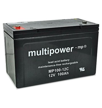 multipower MP100-12C 100Ah