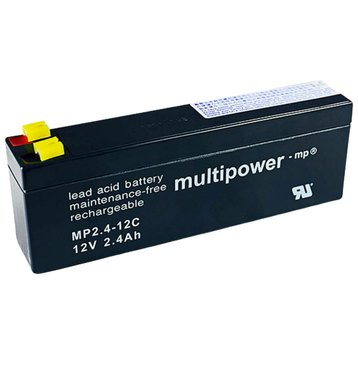 multipower MP2,4-12C 12V 2,4Ah Bleiakku