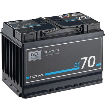 ECTIVE DC 70 Gel Deep Cycle 70Ah Versorgungsbatterie
