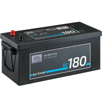 ECTIVE DC 180 GEL Deep Cycle 180Ah Versorgungsbatterie