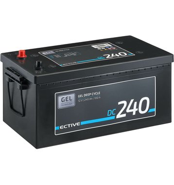 ECTIVE DC 240 GEL Deep Cycle 240Ah Versorgungsbatterie