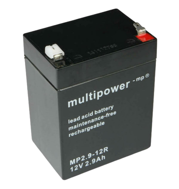 multipower MP2,9-12R 12V 2,9Ah Bleiakku