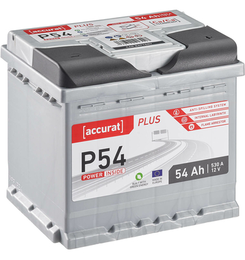 ECTIVE EPC54P PowerCell Plus 54Ah Autobatterie