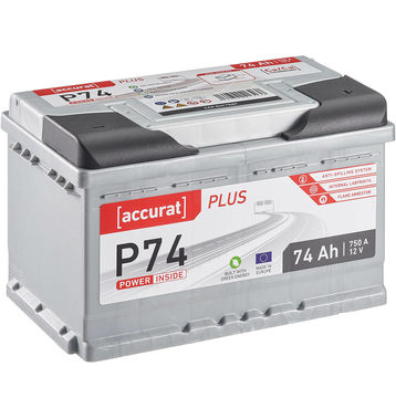 ECTIVE EPC74P PowerCell Plus 74Ah Autobatterie