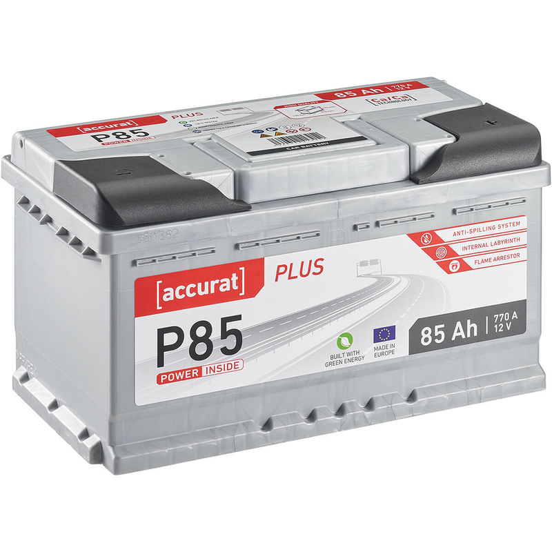 ECTIVE EPC85P PowerCell Plus 85Ah Autobatterie