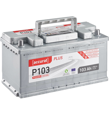 ECTIVE EPC105P PowerCell Plus 105Ah Autobatterie