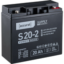 Accurat Supply S20-2 12V AGM Bleiakku F3 20Ah