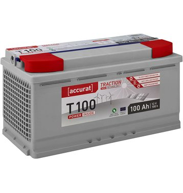 Accurat Traction T100 AGM Versorgungsbatterie 100Ah