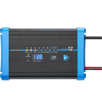 ECTIVE Multiload 12 LFP 12A/12V 8-Stufen Lithium-Batterieladegerät