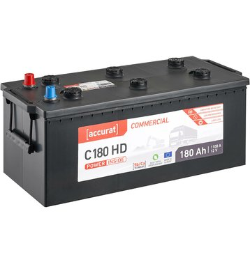 Accurat Commercial C180 HD LKW-Batterie 180Ah