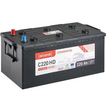 Accurat Commercial C220 HD LKW-Batterie 220Ah