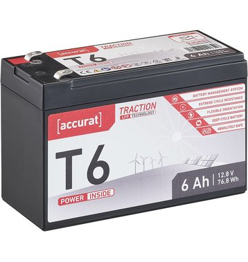 Accurat Traction T6 LFP 12V LiFePO4 Lithium...