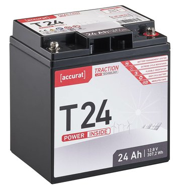 Accurat Traction T24 LFP 12V LiFePO4 Lithium...
