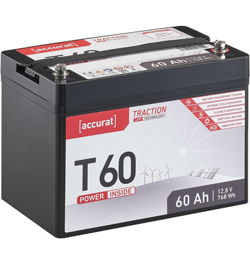 Accurat Traction T60 LFP 12V LiFePO4 Lithium...