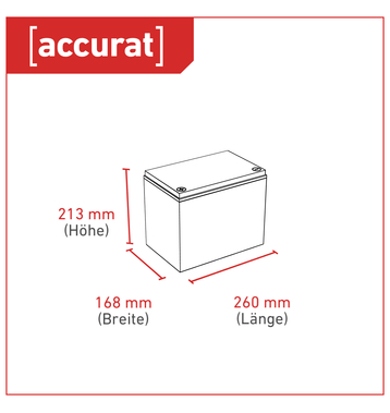 Accurat Traction T40 LFP 24V LiFePO4 Lithium Versorgungsbatterie 40 Ah