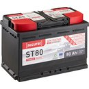 Accurat Semi Traction ST80 AGM Versorgungsbatterie 80Ah