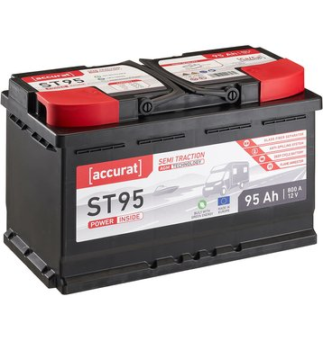 Accurat Semi Traction ST95 AGM Versorgungsbatterie 95Ah