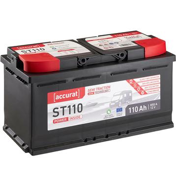 Accurat 12V 260Ah Nass Versorgungsbatterie Blei Säure Solar Batterie Akku