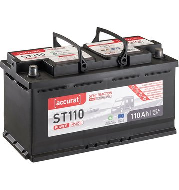 Accurat Semi Traction ST110 AGM Versorgungsbatterie 110Ah
