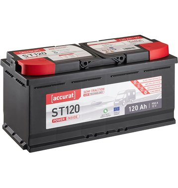 Accurat Semi Traction ST120 AGM Versorgungsbatterie 120Ah