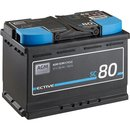 ECTIVE SC 80 AGM Semi Cycle Versorgungsbatterie 80Ah