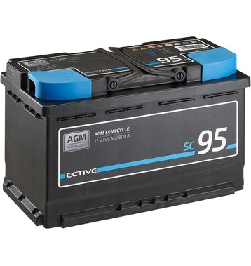 ECTIVE SC 95 AGM Semi Cycle Versorgungsbatterie 95Ah