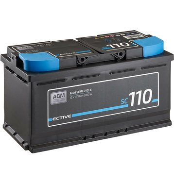 ECTIVE SC 110 AGM Semi Cycle Versorgungsbatterie 110Ah