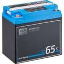 ECTIVE DC 65S AGM Deep Cycle mit LCD-Anzeige 65Ah...