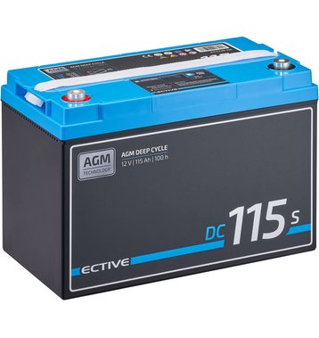 ECTIVE DC 115S AGM Deep Cycle mit LCD-Anzeige115Ah...