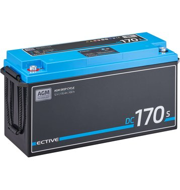 ECTIVE DC 170S AGM Deep Cycle mit LCD-Anzeige 170Ah...