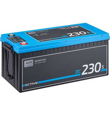 ECTIVE DC 230S AGM Deep Cycle mit LCD-Anzeige 230Ah...