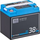 ECTIVE DC 38S GEL Deep Cycle mit LCD-Anzeige 38Ah...