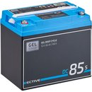 ECTIVE DC 85S GEL Deep Cycle mit LCD-Anzeige 85Ah...