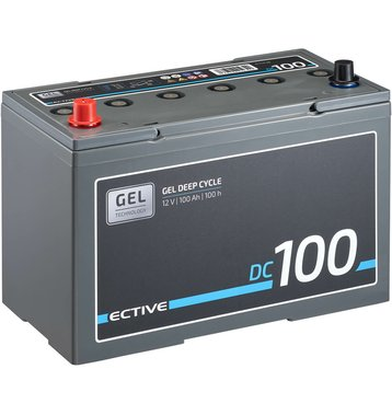 ECTIVE DC 100 GEL Deep Cycle 100Ah Versorgungsbatterie