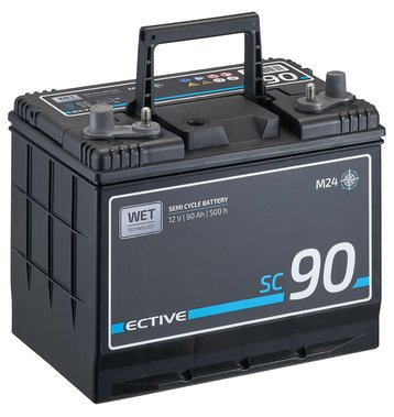 ECTIVE SC 90 WET Semi Cycle Versorgungsbatterie 90Ah (M24)