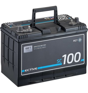 ECTIVE SC 100 WET Semi Cycle Versorgungsbatterie 100Ah (M27)