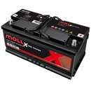 MOLL X-TraCharge 100Ah Autobatterie 84100