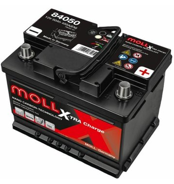 MOLL X-TraCharge 50Ah Autobatterie 84050
