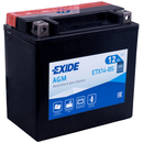 Exide Bike AGM YTX14-BS
