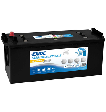Exide ES1600 Equipment Gel (Gel G140) 140Ah