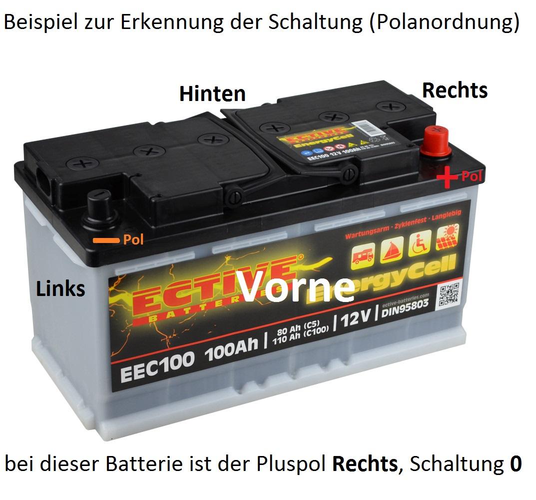 Schaltung 0 einer Autobatterie